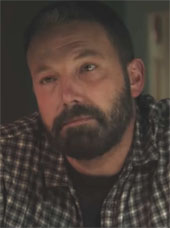 Screenshot of Ben Affleck in the trailer for The Way Back