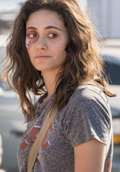 Emmy Rossum as Fiona on Shameless