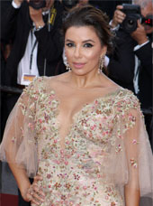 Eva Longoria at Cannes in 2017