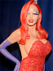 Heidi Klum as Jessica Rabbit in 2015