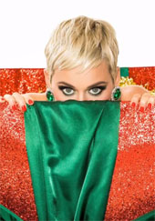 Katy Perry XMas song promo image
