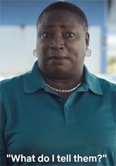 Maryann Rolle, who fed the Fyre festival attendees