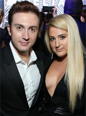 Meghan Trainor and her husband
