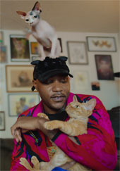 iAmMoshow The Cat Rapper on Cat People credit Netflix