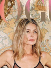 Paulina Porizkova covers Vogue Czechoslovakia
