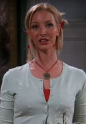 Lisa Kudrow as Phoebe on friends