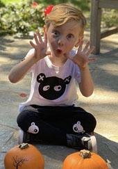 One of Dorit Kemsley's kids