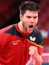 German table tennis player Dimitrij Ovtcharov