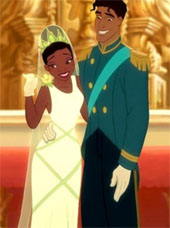 Princess Tiana in Princess and The Frog