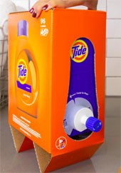 Tide Dispenser looks like boxed wine